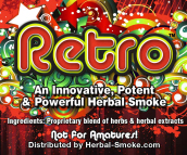 Legal High Potent Retro Smoke, Retro herbal smoke, Retro Bud is extreme!